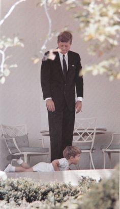 JFK & JFK, Jr.  Wonderful beginning for both...sad ending for both.