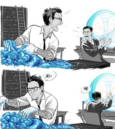 Newt & Hermann, they really like each other, they just don't know how to say it XD