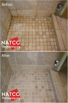 With This Trick You Can Clean Your Bathroom Tiles And Make Them Look