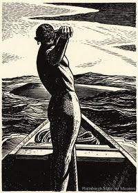 Flores y Palabras: Moby Dick: Ilustraciones de Rockwell Kent Rockwell Kent, Norman Rockwell, Moby Dick, Collaborative Art, Wood Engraving, American Artists, Vintage Art, Landscape Paintings, Chicago