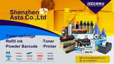 Shenzhen Asta Co.,Ltd Supply #tonercartridge #ink #tonerpowder #barcodeprinter #copiertoner #printing #officesupplies Label Paper, Toner Cartridge, Shenzhen, Epson, Printer, Office Supplies, Ink, Printers, India Ink