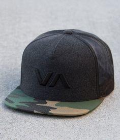 RVCA Force Trucker Hat - Men's Hats