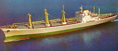 built in yugoslavia, 1971, sister of dicle. did my first trip to the us without my parents on her in 1979. southern & gulf us ports with portugal on the way.