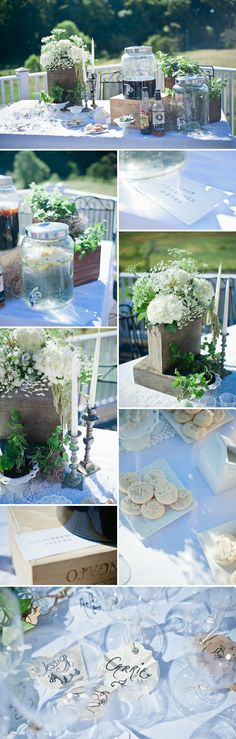 French Garden Themed Baby Shower