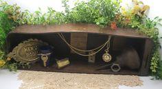 vintage shadow box  - mens