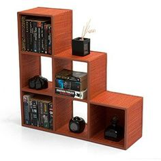 Canori Orange Bookshelf