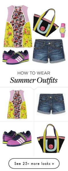 """Collection Of Summer Styles    """"for sunny day"""" by teges on Polyvore featuring Mary Katrantzou, adidas and Nixon    - #Outfits  https://fashioninspire.net/fashion/outfits/summer-outfits-for-sunny-day-by-teges-on-polyvore-featuring-mary-katrantzou-adidas-and-nixon/"""