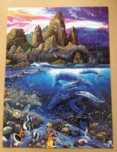 Seascapes Puzzle by Robert Lyn Nelson 750 pieces Search for Harmony NIB Sealed