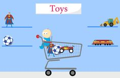 Android: fun shopping app for toddlers/young kids