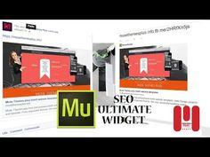 Adobe Muse CC new Widget | Seo Ultimate tool - YouTube