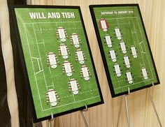 Wedding Gift Ideas Rugby : ... Ideas & Reception Decor Pinterest Rugby wedding, Wedding stuff