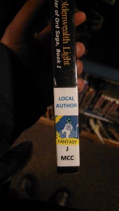 TGL with Local Author and Fantasy public library labels. Library Labels, My Books, Public, Author, Fantasy, Writers, Fantasy Books, Fantasia