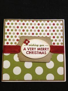 #stampinup #christmas #card