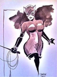 Catwoman by Tim Sale
