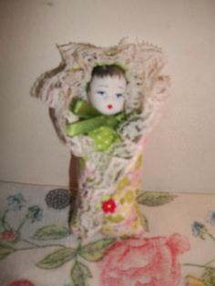 Boneco Moiséis Verde