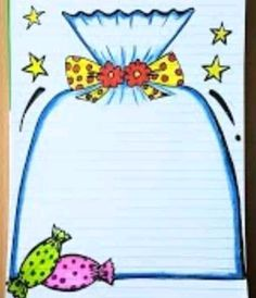 Front Page Design, Page Borders Design, Border Design, Bullet Journal Essentials, Bulletin Board Design, Paper Art Design, Hand Lettering Tutorial, Bullet Journal School, Art Club
