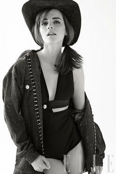 Elle US April 2014   Emma Watson by Carter Smith