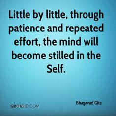 bhagavad gita quotes - Google Search Gita Quotes, Wisdom Quotes, Me Quotes, Qoutes, Having Patience, Divine Light, Bhagavad Gita, Spiritual Wisdom, Effort