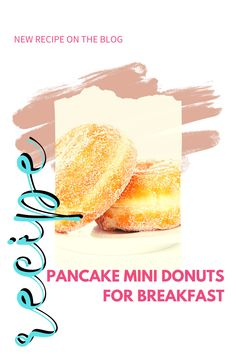 When it's easy to make, moms like making fun food for their kids. These pancake mini donuts are fun and easy to make for breakfast. Mini Pancakes, Mini Donuts, Quick Recipes, New Recipes, Mini Donut Recipes, Fun Food, Good Food, Donut Maker