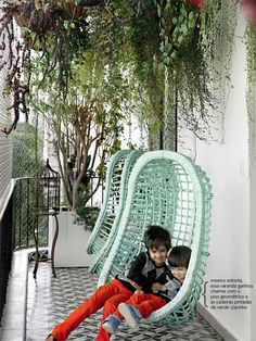 hanging plants in the balcony #decor #outdoors
