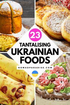 Eastern European Recipes, European Cuisine, Middle Eastern Recipes, European Dishes, Ukrainian Recipes, Russian Recipes, Ukrainian Food, Kitchen Aid Recipes, Cooking Recipes