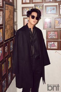 VIXX's Ravi is too cool for words in his solo pictorial with 'International bnt' | allkpop.com