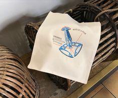 dessinée à Concarneau, Brodée à Quimper Creations, Tote Bag, Brittany, Atelier, Sailors, Greeting Card, Totes, Tote Bags