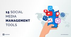 Top 15 Social media management tools of the year 2020 Social Media Analytics, Social Networks, Social Media Marketing, Digital Marketing, Social Media Management Tools, Content Marketing Strategy, Competitor Analysis, Software, Campaign