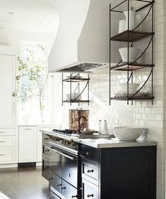 These are the iron shelves I need made for our new kitchen.