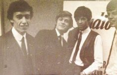 Bill Wyman, Brian Jones, Keith Richards, and Mick Jagger