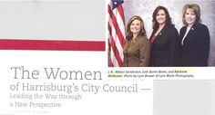 Adrienne McKeown, class of 2000, is part of Harrisburg's City Council.