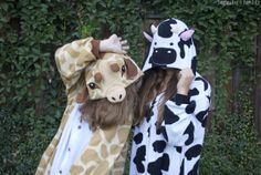 Because bestfriends dress up like animals☆♡☆