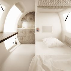 Small Prefab Homes - Prefab Cabins: Ecocapsule - Off-The-Grid Portable Home by Nice Architects cabins.prefabium.com