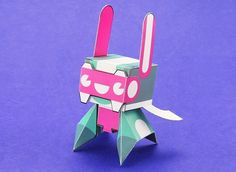 Spark Plug Paper Toy Free Template Download - http://www.papercraftsquare.com/spark-plug-paper-toy-free-template-download.html#SparkPlug