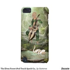 The Elven Forest iPod Touch Speck Case