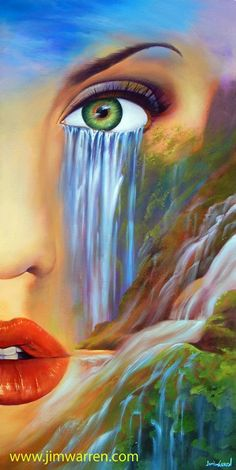Tears of Mother Nature by California artist Jim Warren