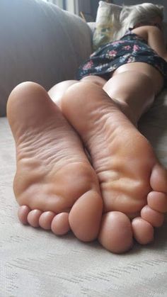 Up close toes feet sexy and