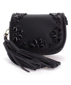 a3d5bac9fda8 This Black Embellished Anderson Way Leather Crossbody Bag is perfect!   zulilyfinds Other Accessories