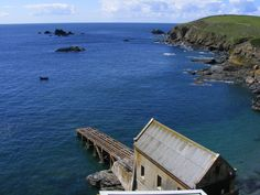 The old Lizard Lifeboat Station at Polpeor Cove, Cornwall. (Photo: WendyJames ~ April 2012)