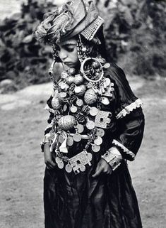 Morocco. Jewish Bride Tahala. Circa 1950.