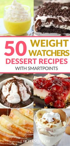 50 Best Easy Weight Watchers Desserts With SmartPoints For Quick Weight Loss Single Serve Desserts, Ww Desserts, Desserts For A Crowd, Winter Desserts, Weight Watchers Desserts, Great Desserts, Healthy Dessert Recipes, Delicious Desserts, Quick Dessert