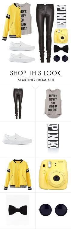 """""""tomboy style"""" by diana2579 ❤ liked on Polyvore featuring Helmut Lang, INC International Concepts, Vans, Victoria's Secret PINK and The Row"""