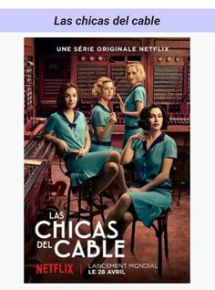 Las Chicas del Cable and vintage fashion From time to time I find on Netflix some drama series that is quite riveting. I wrote a while ago about Velvetthe Spanish tale of star crossed lovers Ana and Alberto set in the Galerias Velvet a department store Series Españolas Netflix, Tv Series 2017, Shows On Netflix, Drama Series, Series Movies, Girls Tv Series, I Love Series, Best Series, Orphan Black