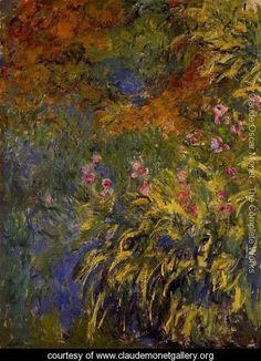 Irises - Claude Oscar Monet - www.claudemonetgallery.org