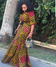 The best collection of unique and classic ankara gown styles of these ankara gowns are classically made African Fashion Ankara, Latest African Fashion Dresses, African Print Dresses, African Print Fashion, Africa Fashion, African Dress, African Prints, Trendy Ankara Styles, Ankara Gown Styles