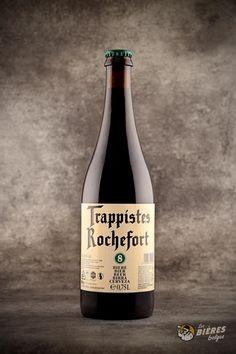 Rochefort 8, une des 6 bières trappistes belges. A savourer en bonne compagnie grâce à son format 75cl.