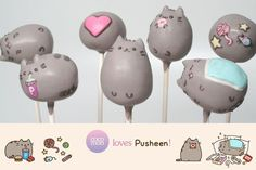 Look at these fun cakes and bakes celebrating that super sweet kitty cat, Pusheen.