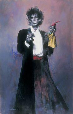 Keith Richards by Sebastian Krüger                                                                                                                                                                                 Mehr