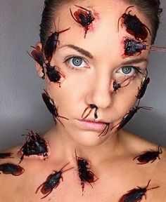 """46.1k Likes, 387 Comments - Makeup•Sfx•Artistic•Cosplay (@crazy.makeups) on Instagram: """"Amazing!  By: @korbynrachelartistry . Follow us @crazy.makeups for more... . Use #crazymakeups to…"""""""