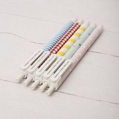 Bolígrafos estampados II